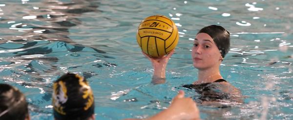 Oakville High School girls water polo.