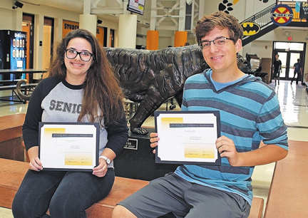 Four Mehlville School District students named National Merit semifinalists