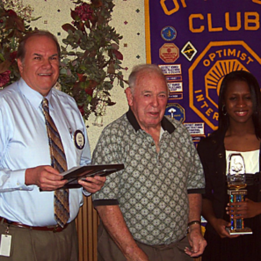 Optimists honor Youths of the Month