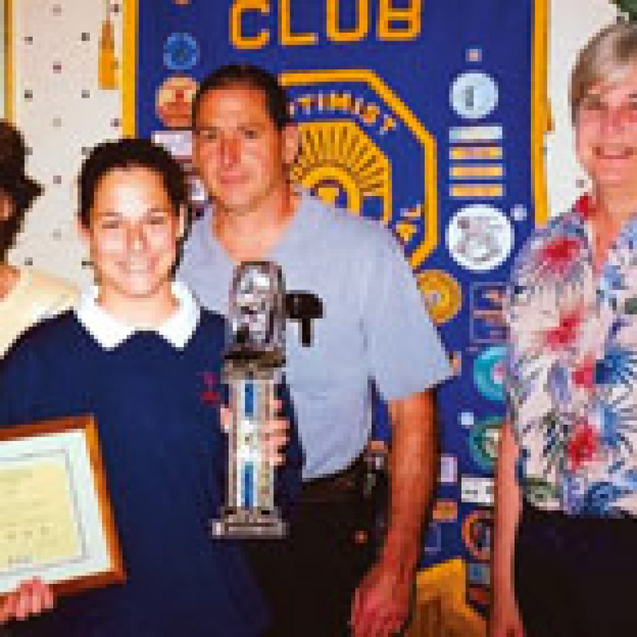 Optimist Club honors Youth of the Month