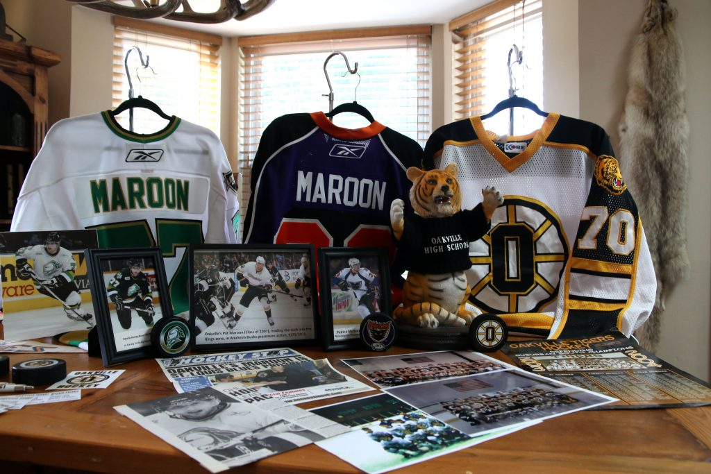 Pat Maroon started as Oakville's hockey star