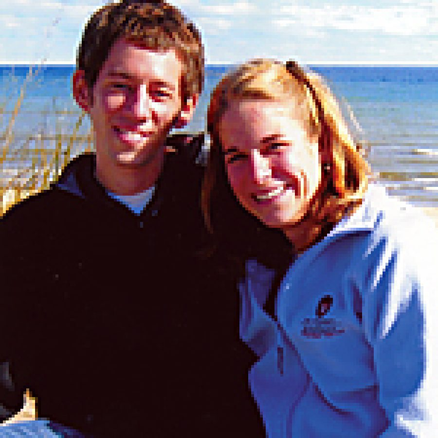 Timothy Huegerich and Stacy Preisler