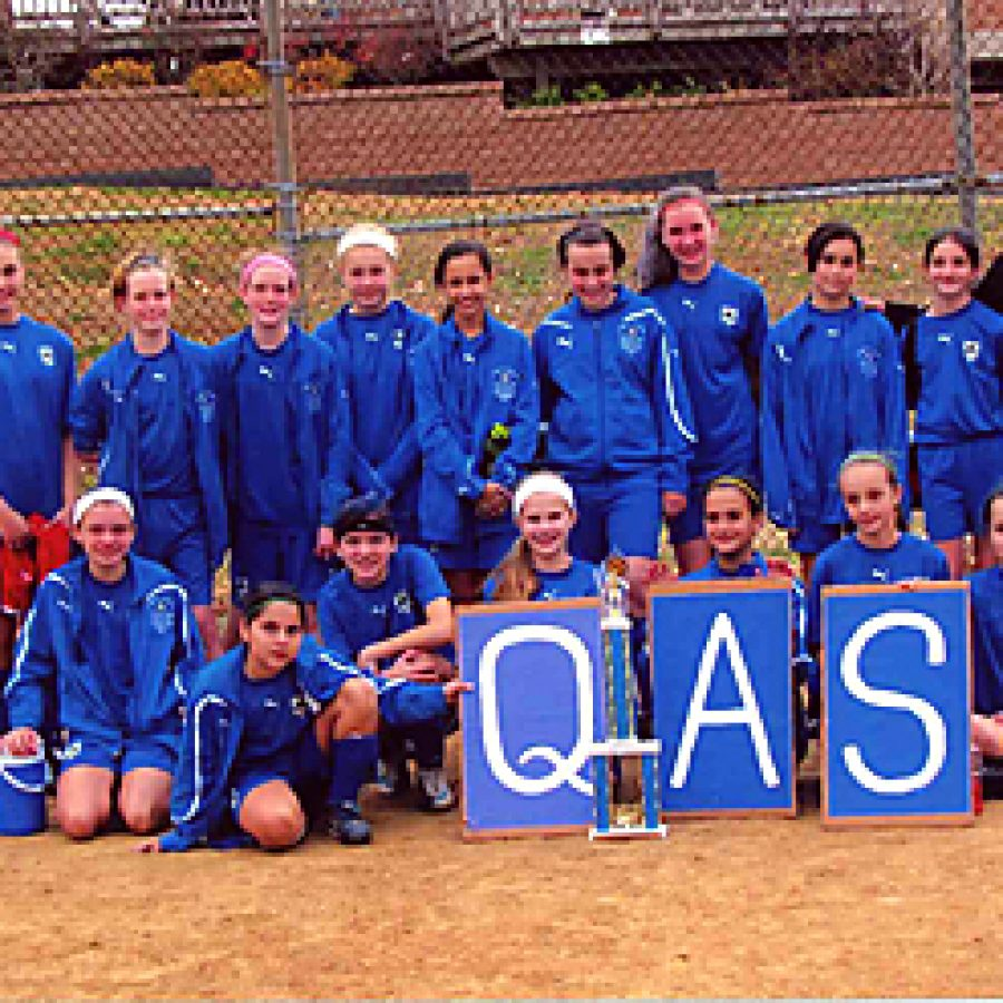 QAS girls win second consecutive title