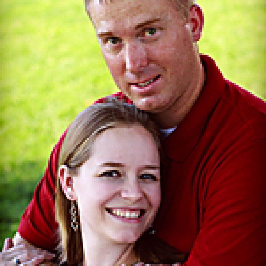 Lindsay Rapp and Danny Vogelsang