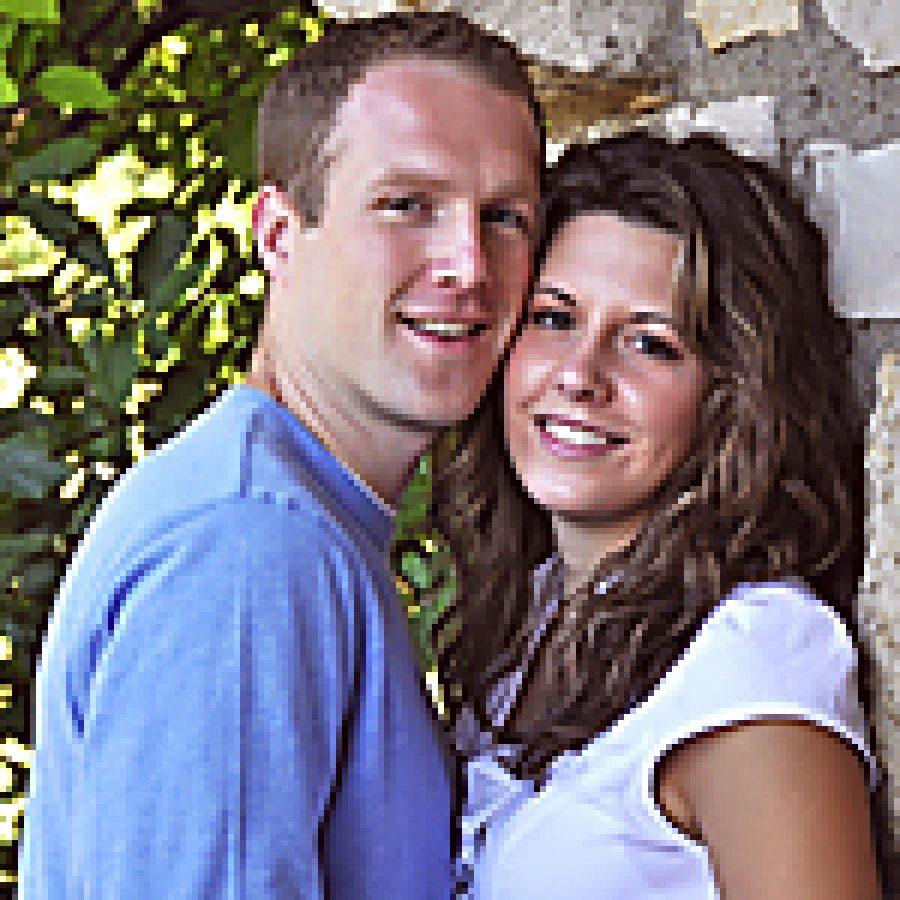Eric Dearmont and Rachel Reinhold