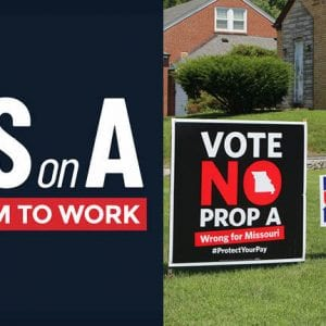 Voters to decide fate of Missouri 'right-to-work'