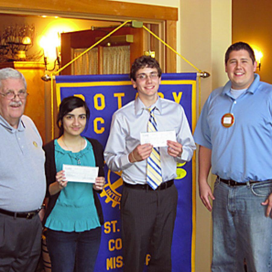 Rotary Club awards scholarships