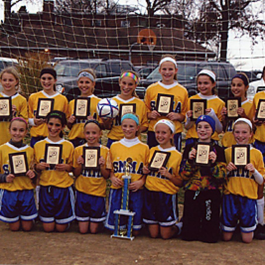 SMMA girls win soccer championship