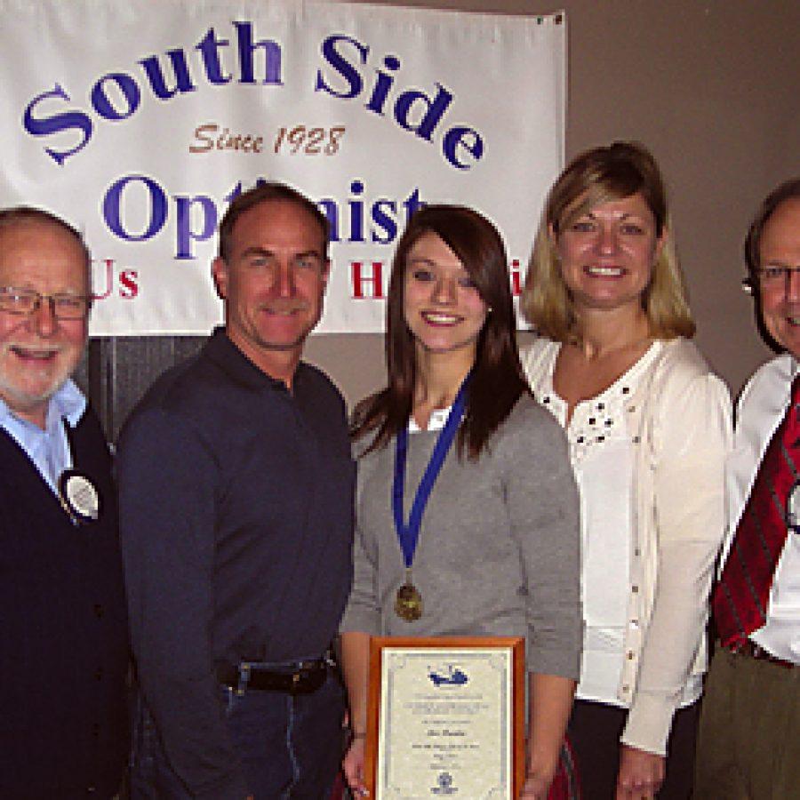 Optimists honor essay contest winner
