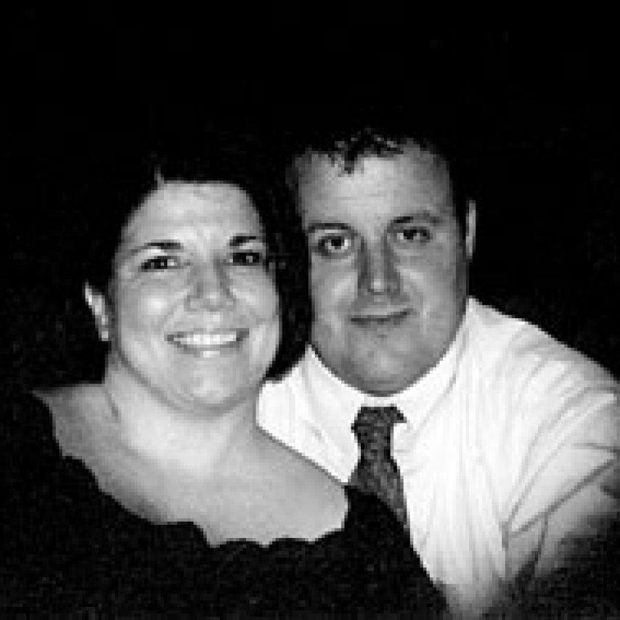 Michelle Steinmeyer and John Ritter
