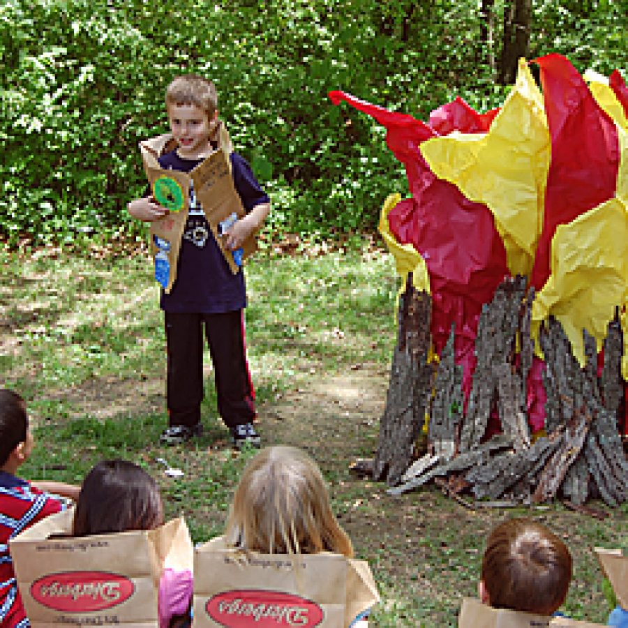 Point first-graders attend Camp Reads a Lot