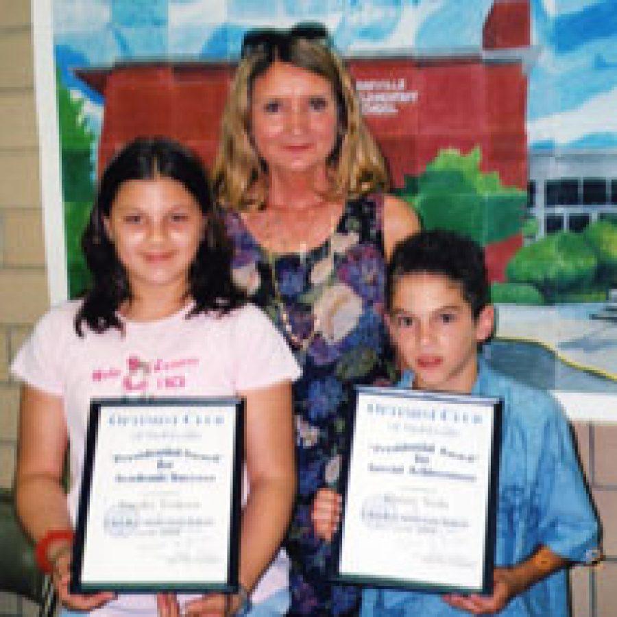 Optimists honor Oakville Elementary pupils