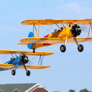 Last year's Sappington-Concord Memorial Day event featured a ceremonial flyover by a local group of Stearman Aircraft Owners.