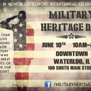 Military Heritage Day set in Waterloo, Illinois