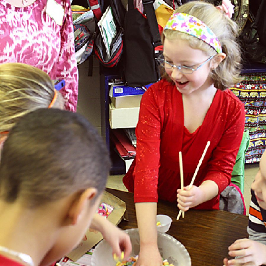 Pupils celebrate Valentine's Day