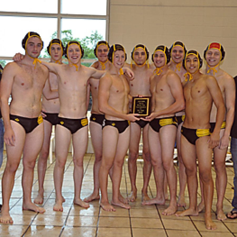 Water polo team makes a splash at state