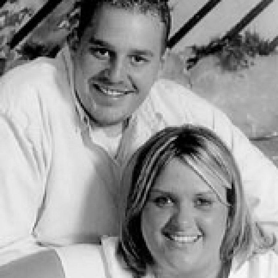 Jennifer Winkler and Joshua Morgan