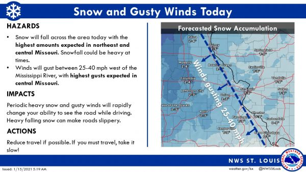 The National Weather Service St. Louis posted this on Twitter.