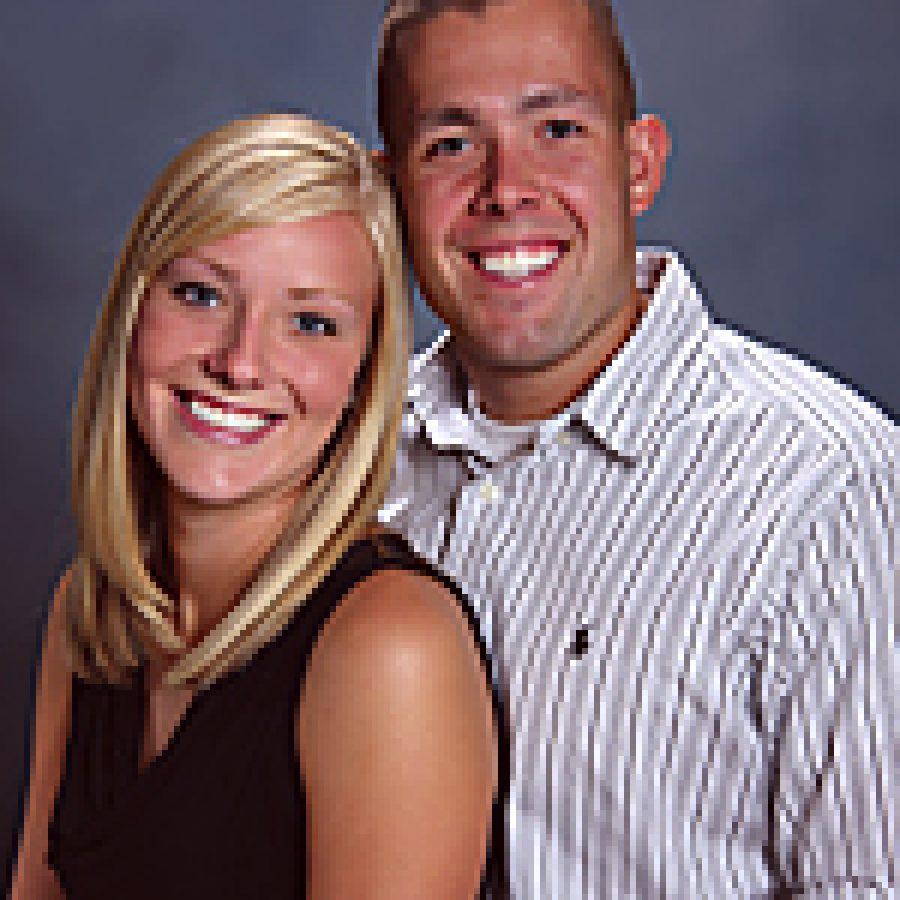 Samantha Wolken and Erik Andrew