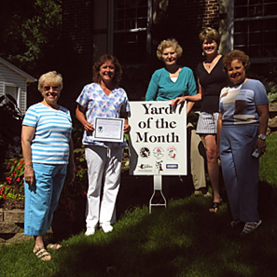 Garden Club selects Yard of the Month